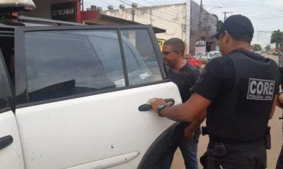 Diretor de presídio 470 é preso com droga em viatura da Secretaria de justiça de Rondônia
