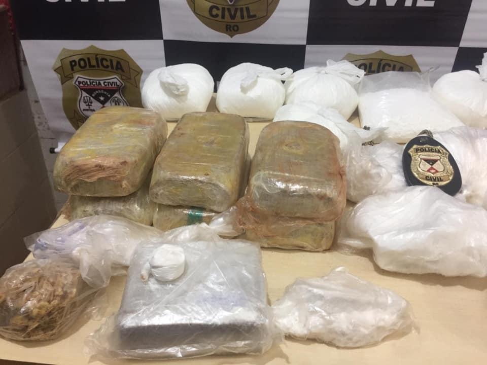 Polícia Civil apreende 10kg de droga em conveniência na Capital