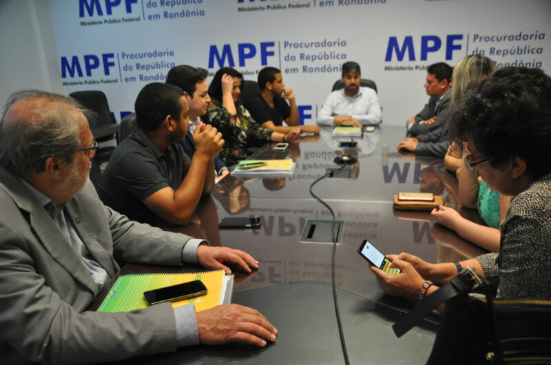 Palitot se reúne com Procurador do MPF para falar sobre o Bonifica Unir