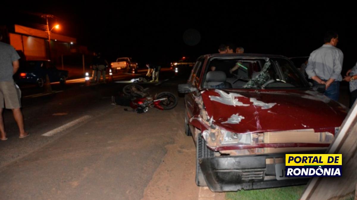 Homem de 43 anos é atropelado e morto na BR364 em Ji-Paraná