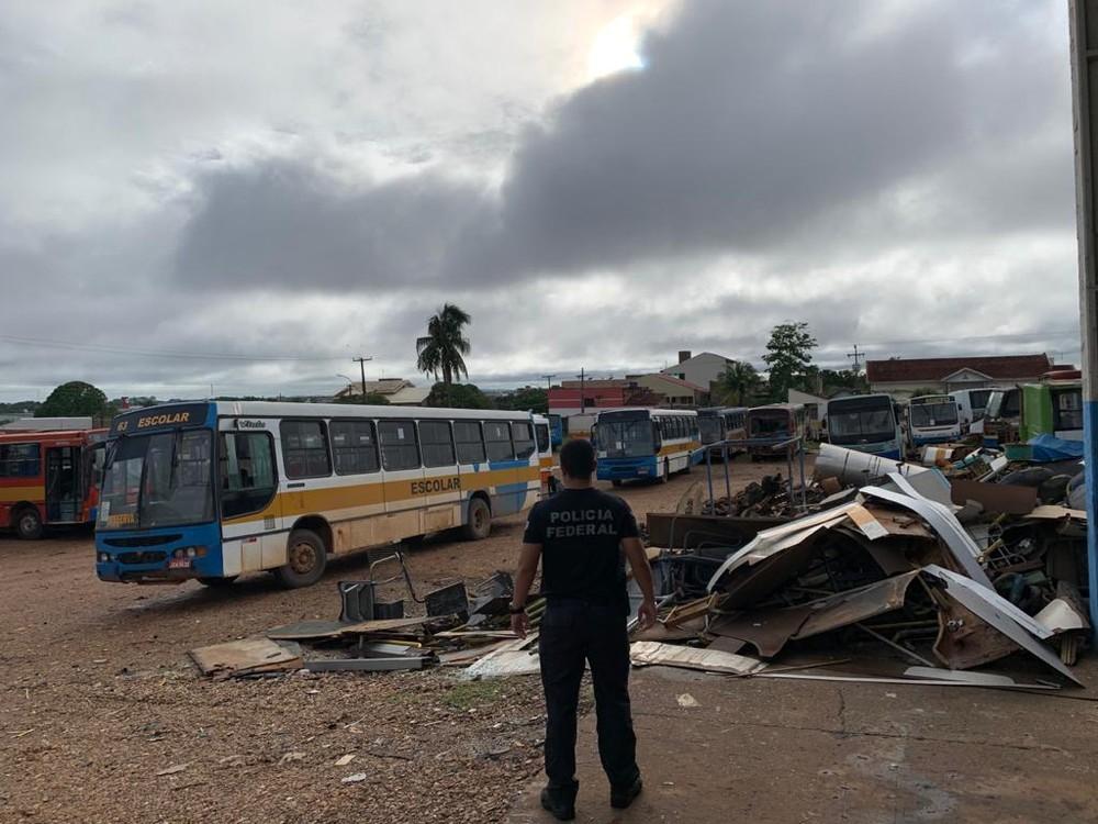 PF combate desvio de recursos públicos em Rondônia