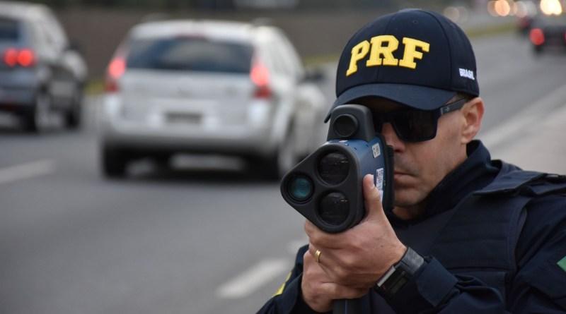 PRF volta a realizar as fiscalizações com radares na BR-364
