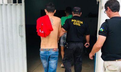 Polícia Civil prende quadrilha que roubava caminhonetes e levava para a Bolívia