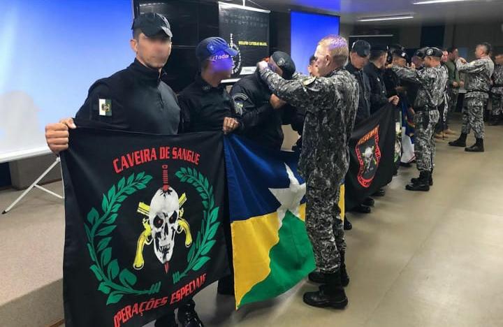 """""""Desafio Caveiras Brasil"""" reúne operações especiais do país e Bope de Rondônia fica em 3º no Tiro de Precisão"""
