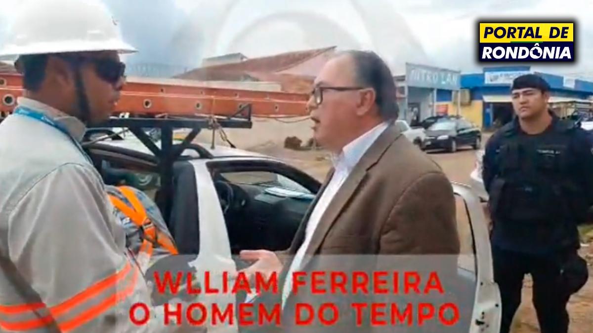 Advogado Caetano Neto dá voz de prisão nos funcionários da Energisa