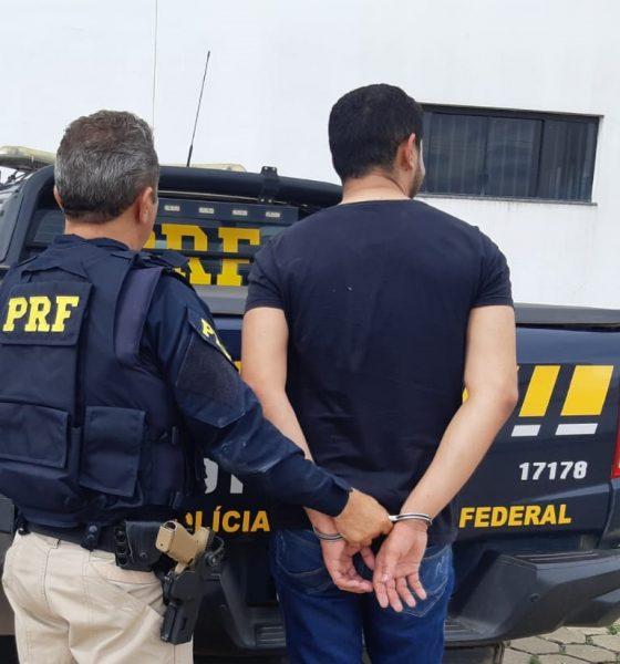 Motorista bêbado desobedece ordem de parada da PRF, foge, e acaba preso na BR-364