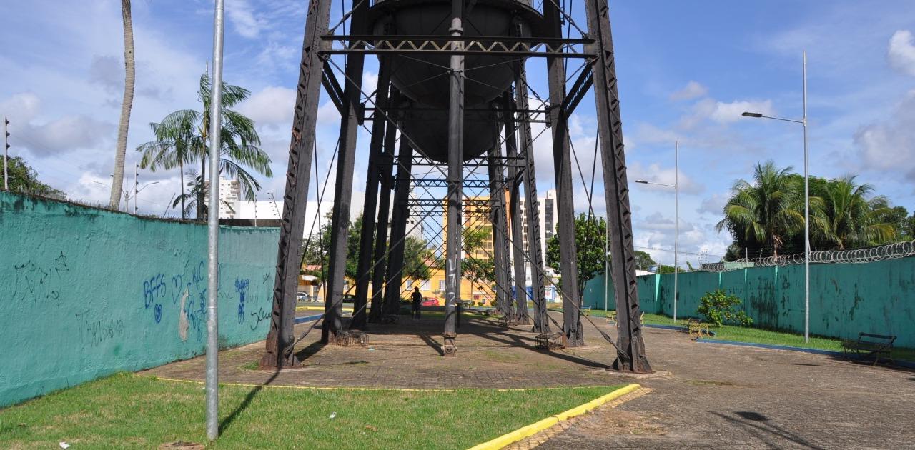 Ícone de Porto Velho, Caixa D'Água pode vir ao chão