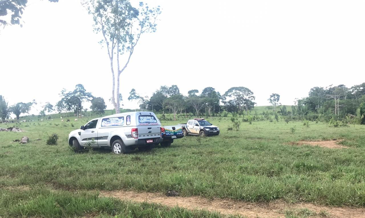 Homem é encontrado morto na zona rural