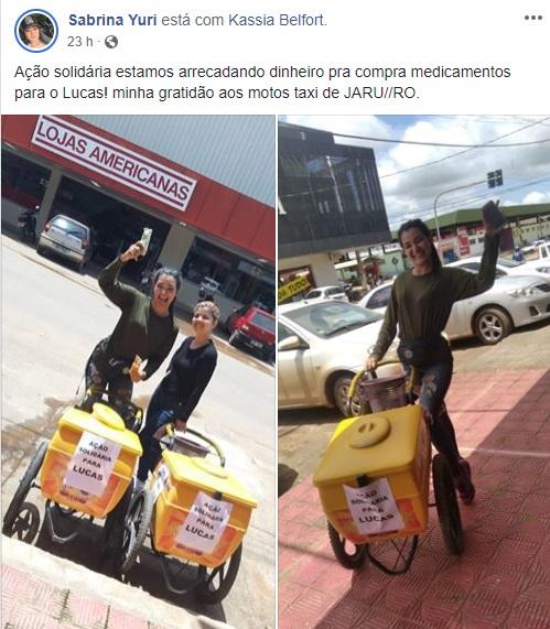 Jovens vendem picolé para comprar remédios para criança especial em Rondônia
