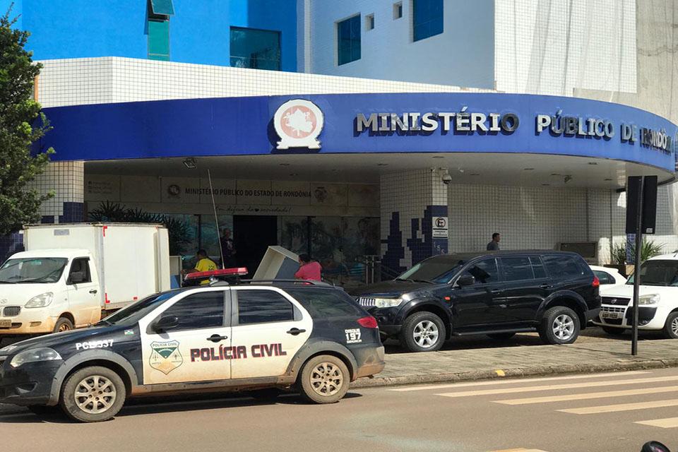 Ministério Público de Rondônia deflagra operação contra esquema criminoso no Governo de Rondônia
