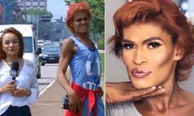 Travesti que ficou famosa é presa por assalto na rodoviária de Porto Velho