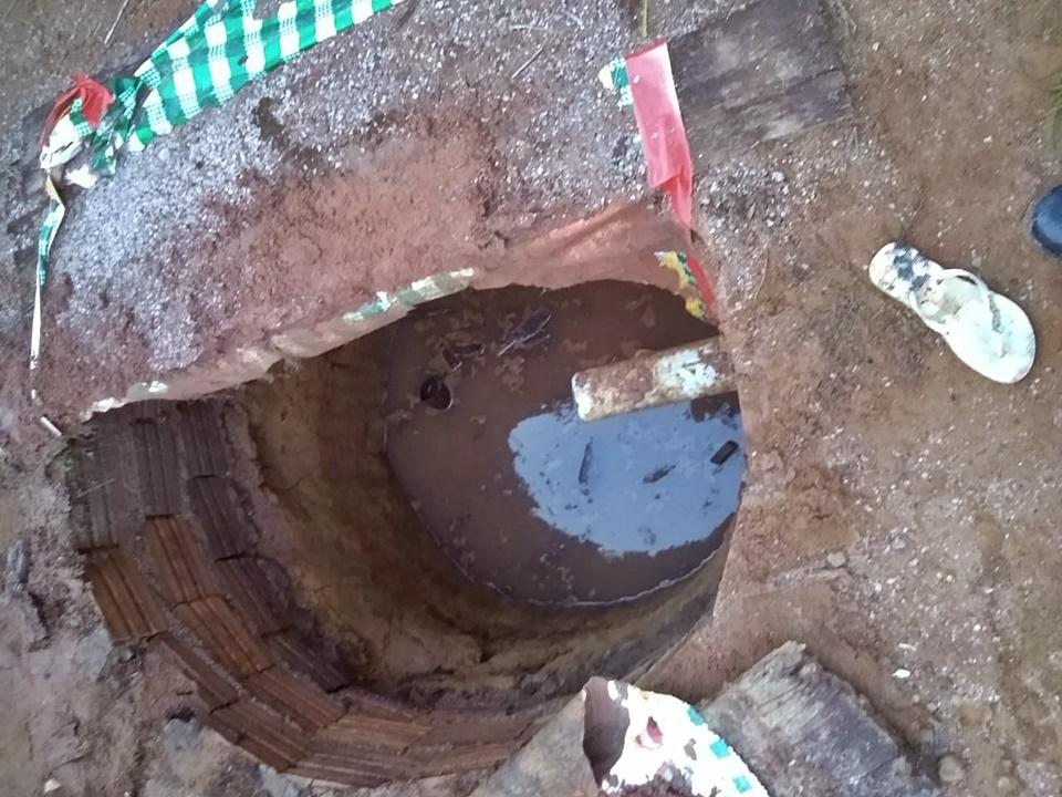Criança de três anos morre afogada após cair dentro de fossa em Rondônia