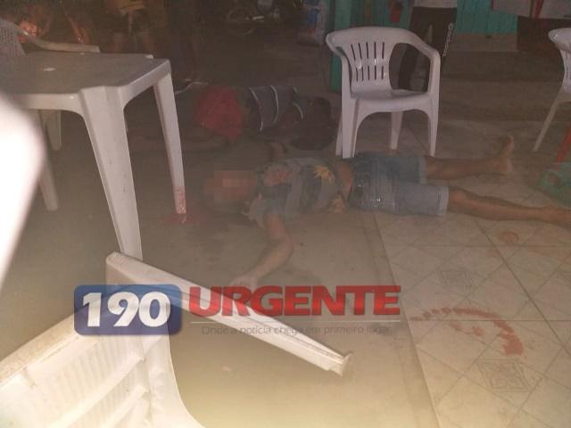 Três pessoas são mortas a tiros e um bebê fica ferido no interior de Rondônia