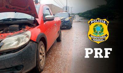 PRF recupera veículo adulterado e prende homem na BR-319