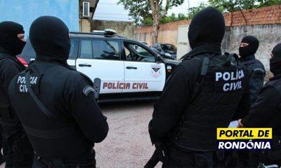 Polícia Civil deflagra operação e prende 13 pessoas por tráfico