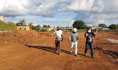 Palitot inspeciona obras do Complexo da EFMM
