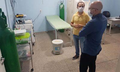 Palitot visita unidade que receberá pacientes do Corona em Porto Velho