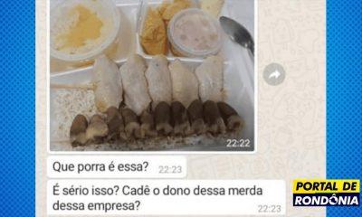 Cliente assedia funcionária de espetinho e recebe frango cru por delivery em Porto Velho