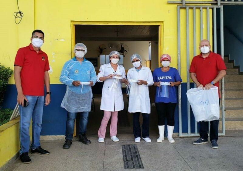 Palitot participa de doação de EPI's para enfrentamento ao Covid-19