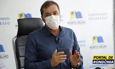 Hildon Chaves sanciona Lei que multa em R$ 80 quem não usar máscara em Porto Velho