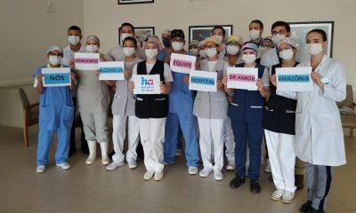 Metade dos pacientes infectados por Covid-19 em Porto Velho estão curados
