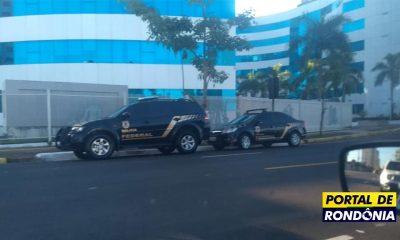 Polícia Federal deflagra Operação Dúctil no Governo de Rondônia