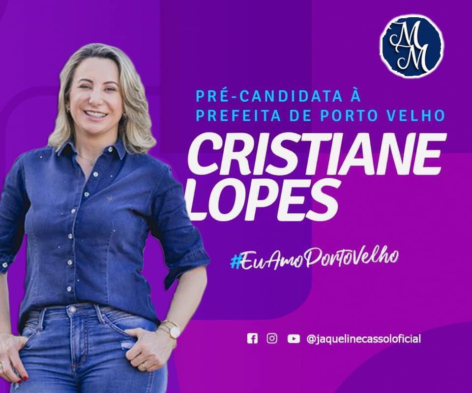 Juiz atende pedido de Cristiane Lopes e determina que facebook tire do ar a página Mídia Marrom