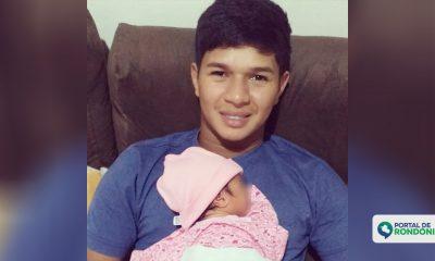 Jovem que tinha acabado de virar pai morre afogado no balneário Jalapão em Porto Velho