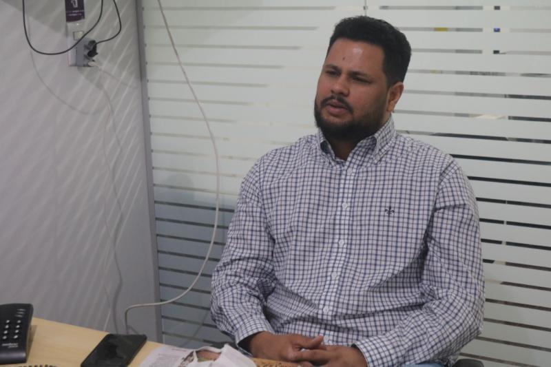 Samuel Costa é o pré-candidato a prefeito de Porto Velho pelo Movimento65