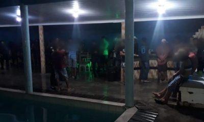 Polícia Militar é acionada para conter aglomeração no interior de Rondônia