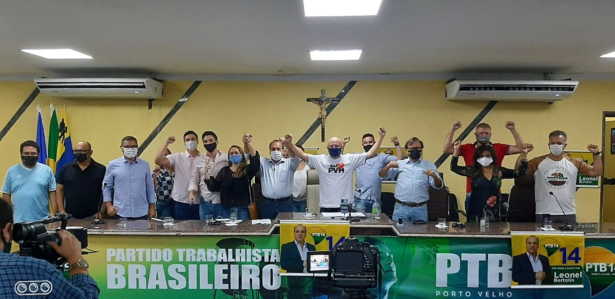 PTB realiza Convenção Partidária e confirma Leonel Bertolin à Prefeitura de Porto Velho