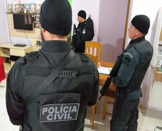 """Polícia Civil faz mega operação contra """"Tribunal do crime"""" em Porto Velho"""
