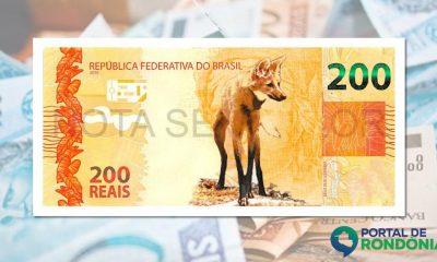 Nota de R$ 200 começa a circular nesta quarta, segundo o Banco Central