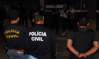 Operação da Polícia Civil em combate a crimes contra crianças e adolescentes