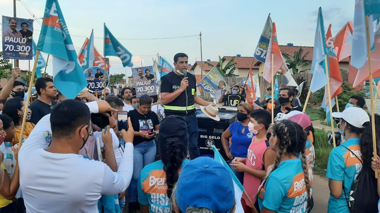 Breno Mendes desmente boatos e diz que sua campanha é feita nos bairros conversando com a população