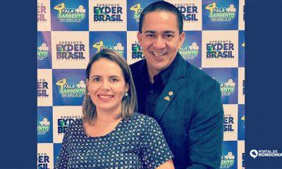 Esposa do Deputado Eyder Brasil recebe R$ 100 mil reais do fundo eleitoral do PSL para campanha de Vereadora