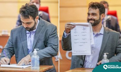 Vinícius Miguel assina Pacto Contra a Corrupção Eleitoral e Caixa dois