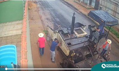 Polícia Civil desvenda suposto furto de máquina de asfalto; Prefeitura e Governo do Estado irão responder