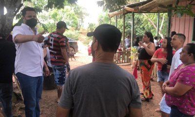 Samuel Costa apresenta propostas para moradores de setor chacareiro em Porto Velho
