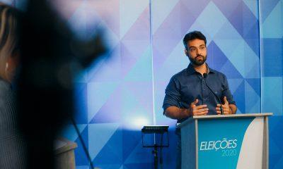 Vinícius Miguel participa de sabatina na Rede TV e mostra que é o mais preparado para administrar Porto Velho