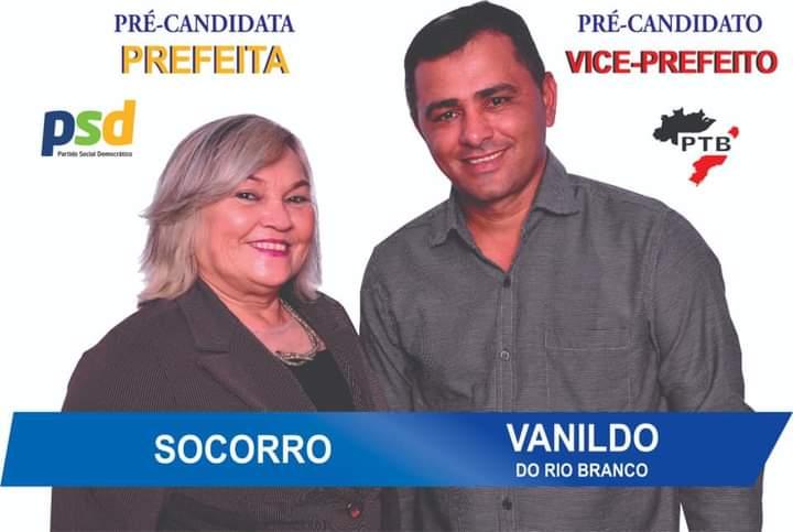 Candidata a Prefeita de Campo Novo de Rondônia Maria Socorro