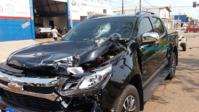 S-10 atropela e mata ciclista em cruzamento de Porto Velho