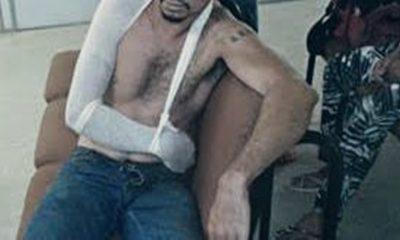 Homem é atacado com barra de ferro pela ex-mulher