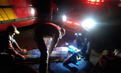 Homem é encontrado na rua após ser agredido com gargalo de garrafa