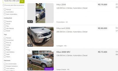 Nova vítima do anuncio clonado de veículo na OLX, perde R$ 54 mil no interior de RO