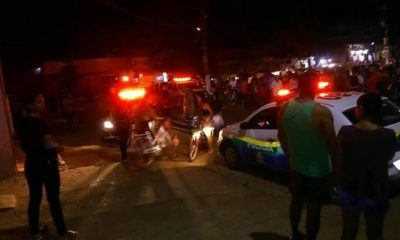 Perseguição é registrado na capital após dupla assaltar casal