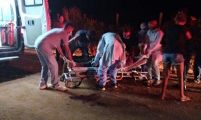 Grave acidente entre motos deixa três pessoas com fraturas expostas em RO