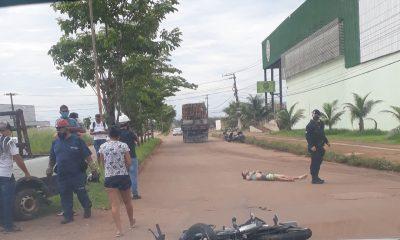 Jovem de 18 anos morre após acidente de moto em Porto Velho