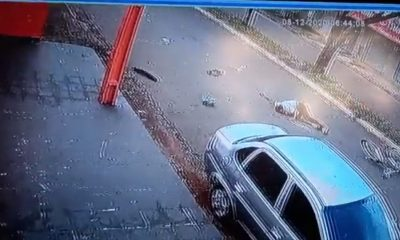 Vídeo mostra motorista atropelando e matando idoso na capital