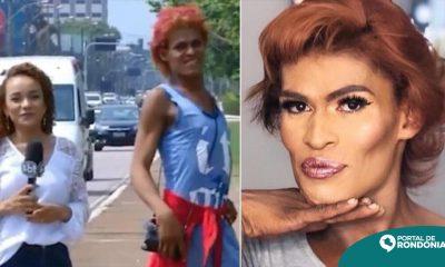 """Travesti """"Maravilhosa"""" que ficou famosa nacionalmente morre em Porto Velho"""